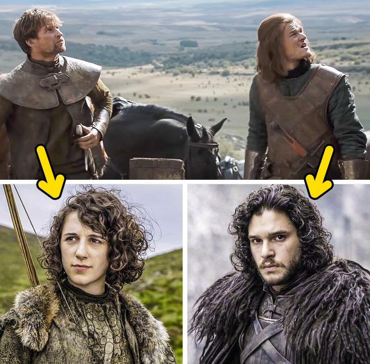 Meera Reed ve Jon Snow ikiz kardeş mi