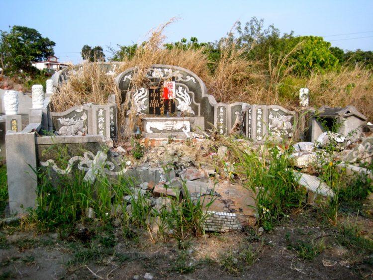 tayvan mezarları
