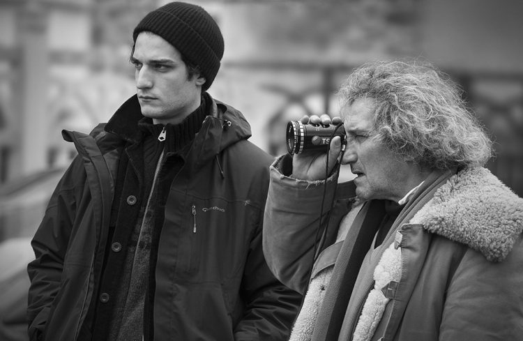 Louis Garrel ve babası
