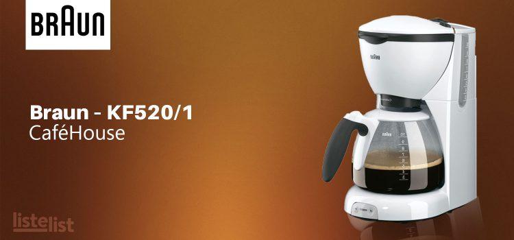Braun – KF520/1 CaféHouse Kahve Makinesi