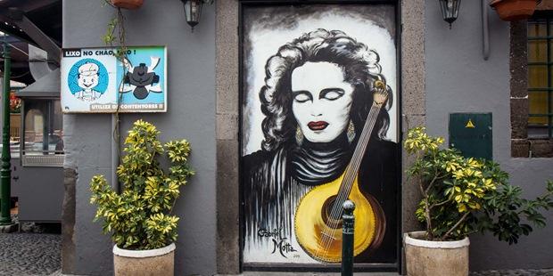 Portekiz'in Funchal Kentinde Sanatı Sokağa Taşıyan 20 Kapı