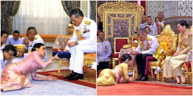 Metresini Resmî Törenle Halka Takdim Eden Tayland Kralı