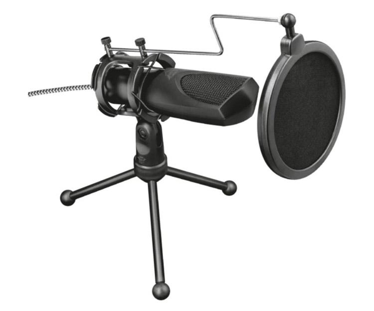 Trust Mantis GXT 232 USB Masaüstü Mikrofon podcast