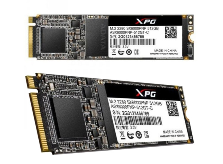 XPG 512GB PCIE m.2 2100/1500 Flash SSD