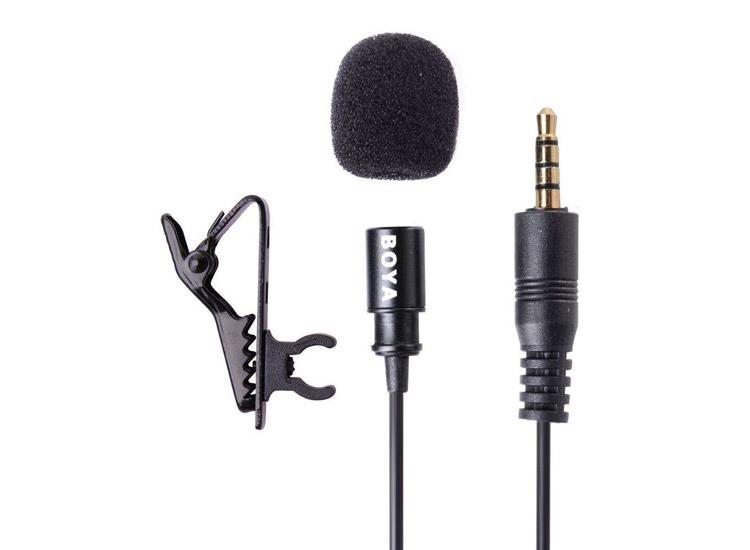 Boya BY-LM10 Yaka Mikrofonu