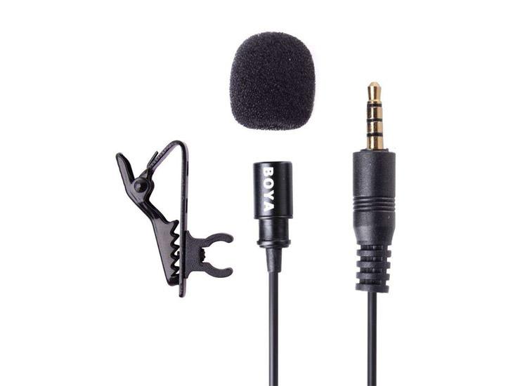 Boya BY-LM10 Yaka Mikrofonu Yeni Başlayanlar İçin YouTuber Ekipmanları