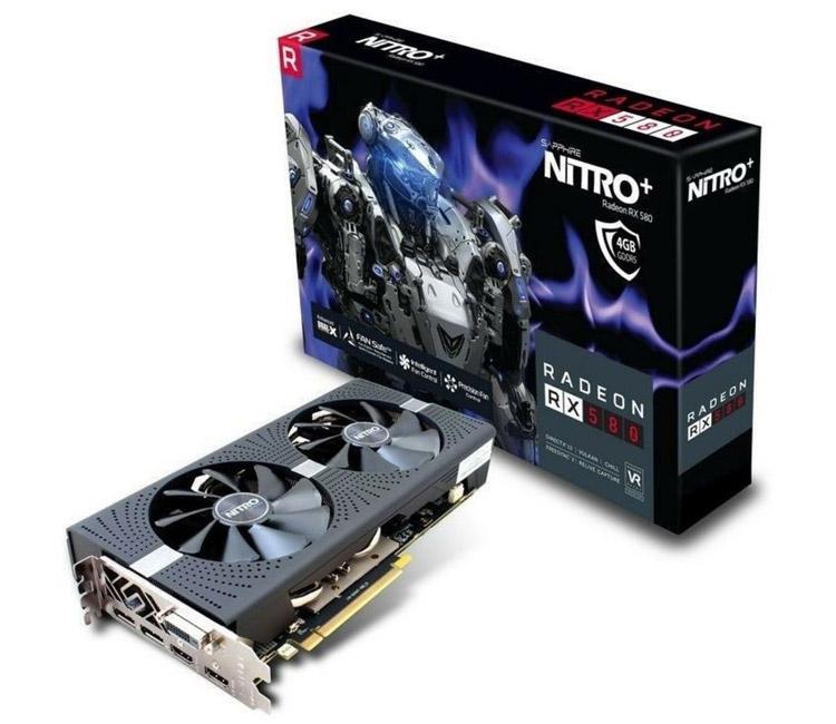 5000 TL altına oyun bilgisayarı toplamak - SAPPHIRE Radeon RX 580 Nitro+ 4GB GDDR5 256Bit DX12 Amd Radeon Ekran Kartı