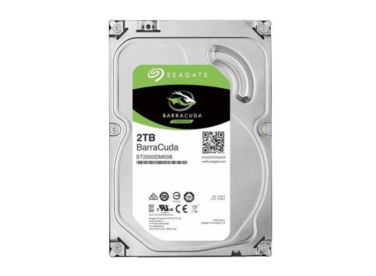 Seagate Barracuda 2TB 7200RPM 64MB HDD