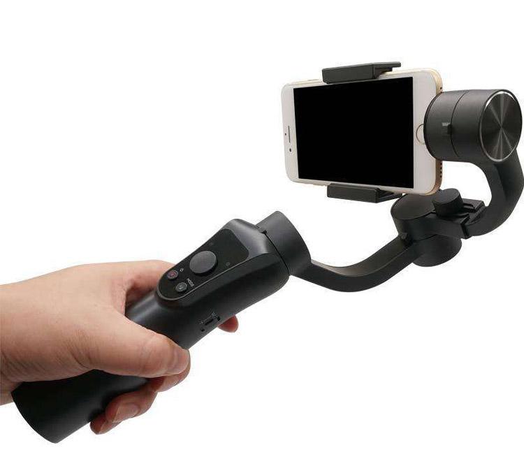 Soocoo PS3 Üç Eksenli Akıllı Telefon Gimbalı