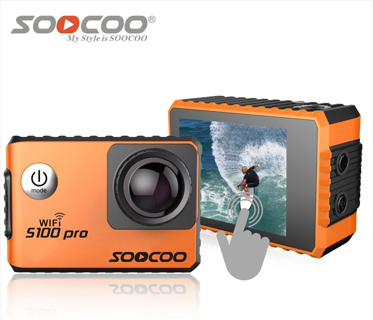 SooCoo S100 Pro 4K Aksiyon Kamerası