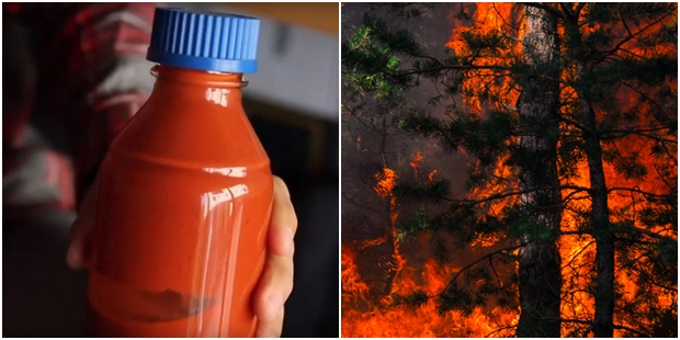 Bilim İnsanlarının Geliştirdiği Orman Yangınlarını Önleyici Sprey