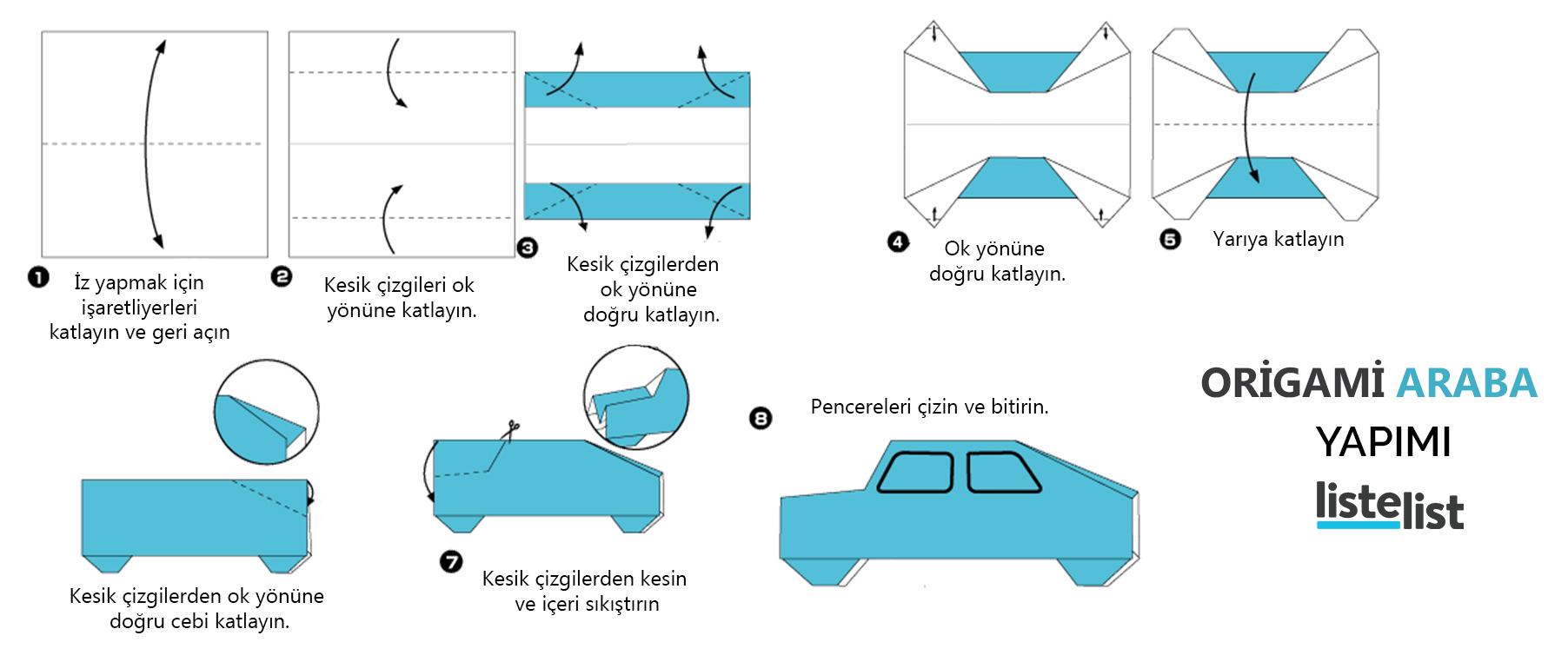 origami nasıl yapılır