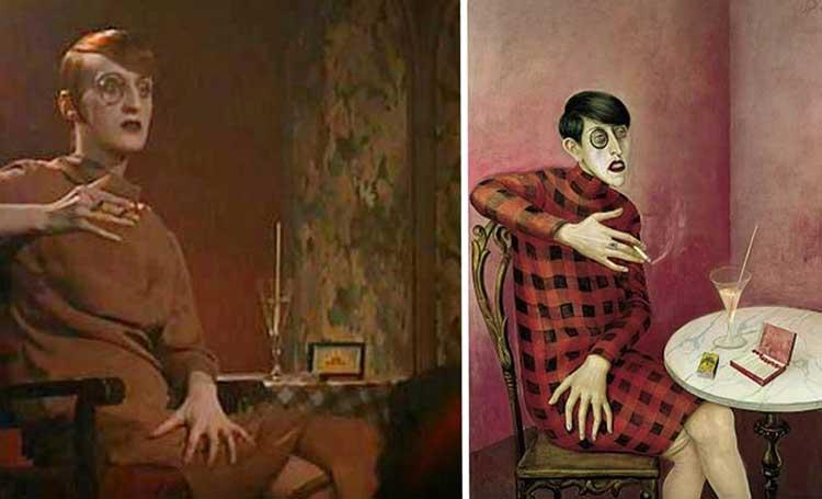 cabaret-filmi-portrait-of-the-journalist-sylvia-von-harden-tablosu-resmi-resim