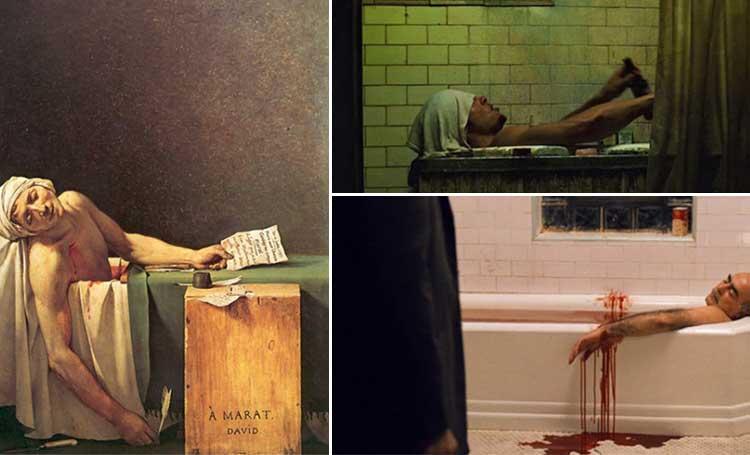 fight-club-filmi-the-godfather-2-filmi-the-death-of-marat-tablosu-resim
