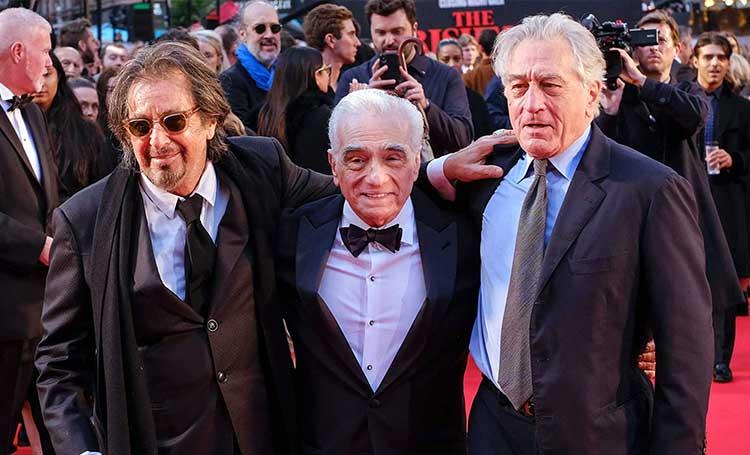 the irishman filmi yönetmeni martin scorsese
