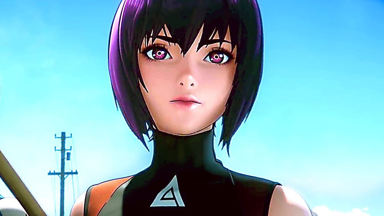 2020 netflix dizileri ghost in the shell sac 2045