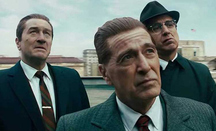 the irishman filmi mini dizi versiyonu sosyal medya