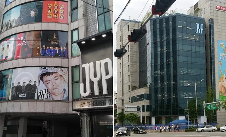 k-pop kore popu şirket