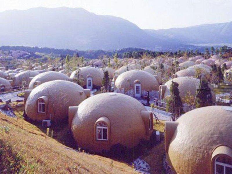 japonya köpük evler