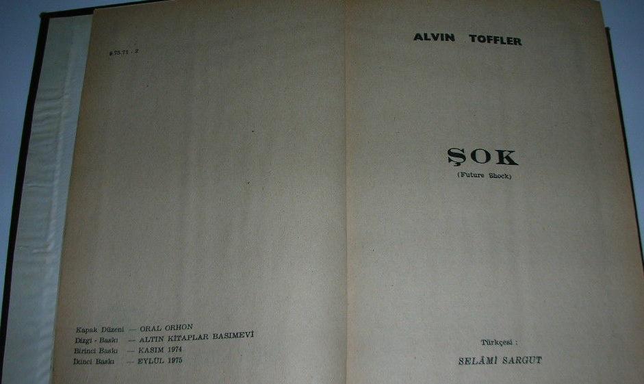 Alvin Toffler, Şok