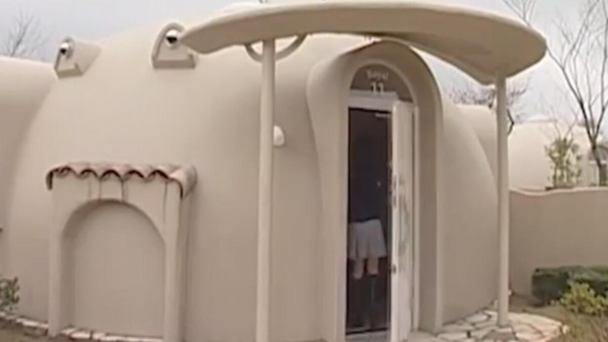 Japonya deprem köpük evler
