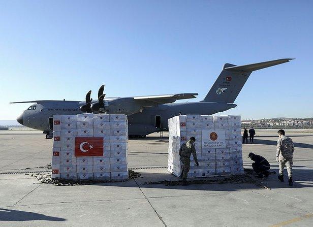 türkiye yardım