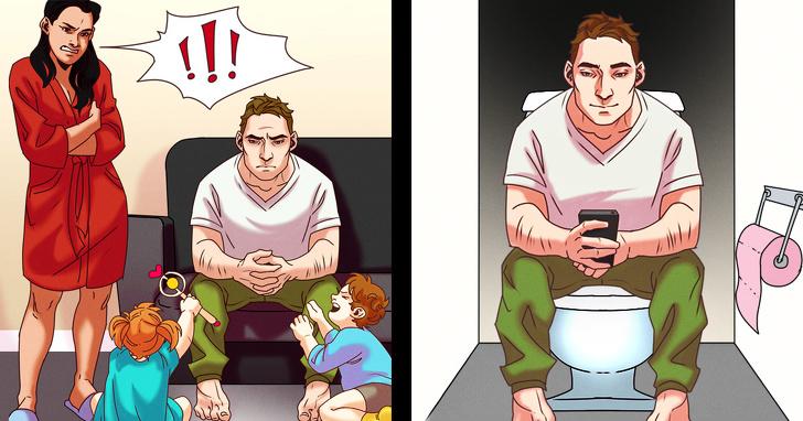 Erkeklerin tuvalete kaçma nedenleri