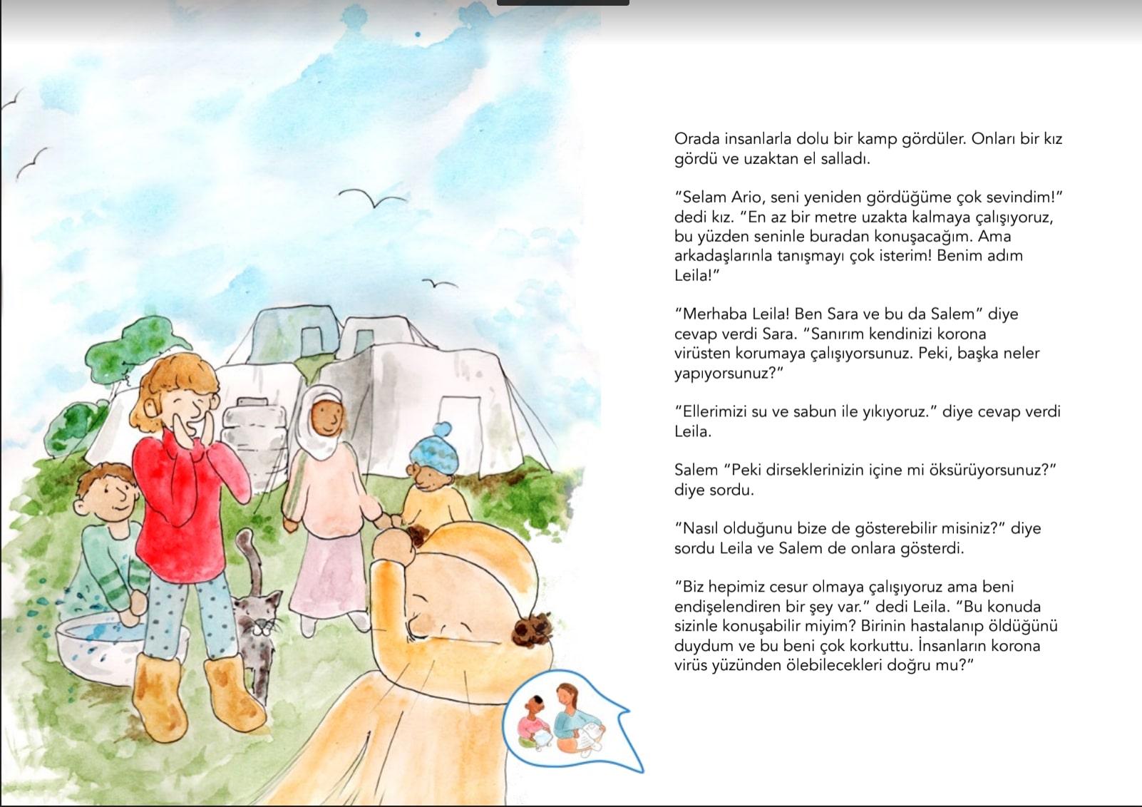 Benim Kahramanım Sensin: COVID-19 ile Savaşan Çocuklar