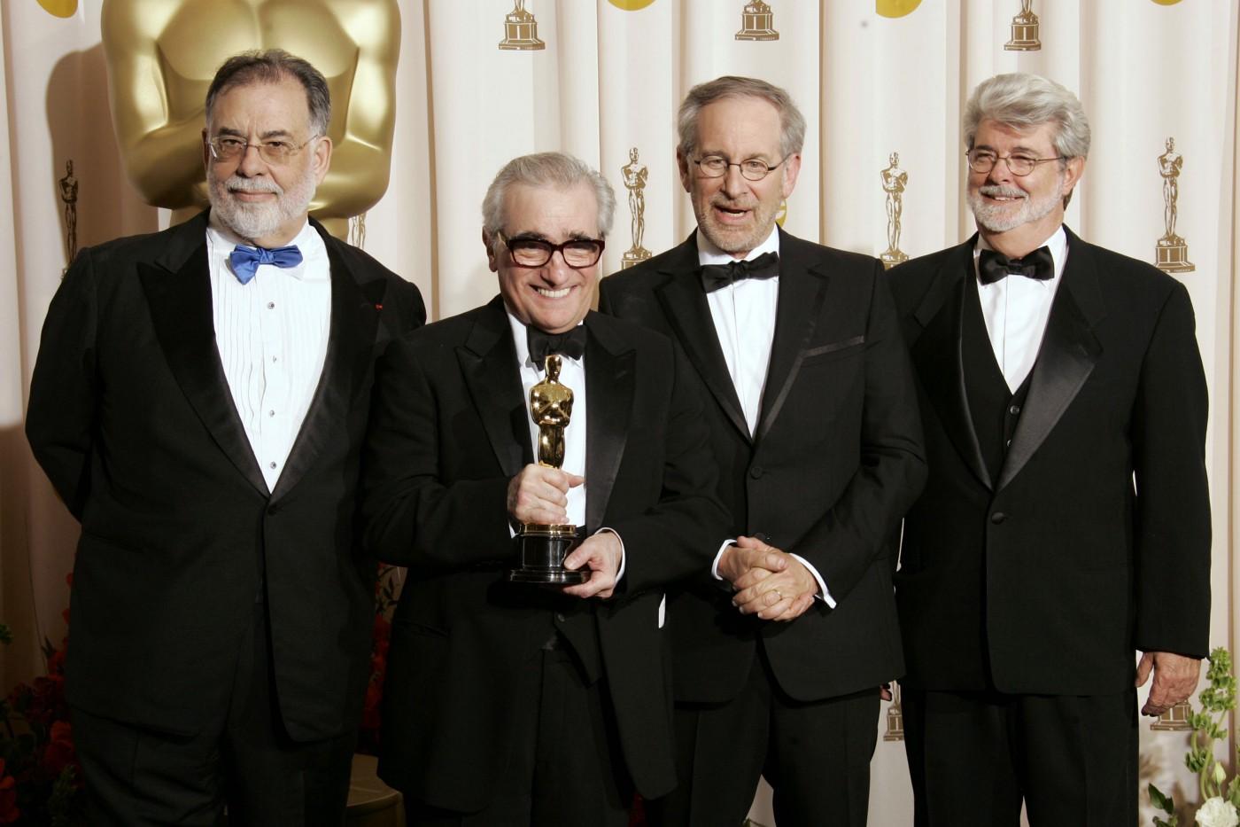Martin Scorsese ve yönetmen arkadaşları
