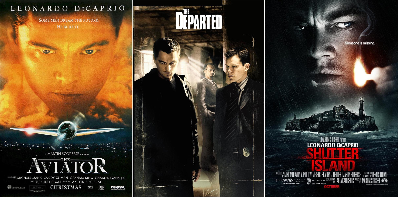 Martin Scorsese ve Leonardo DiCaprio çalışmaları