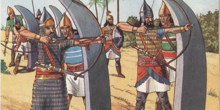 Mezopotamya'daki düzenli ordu hakkında bilgiler