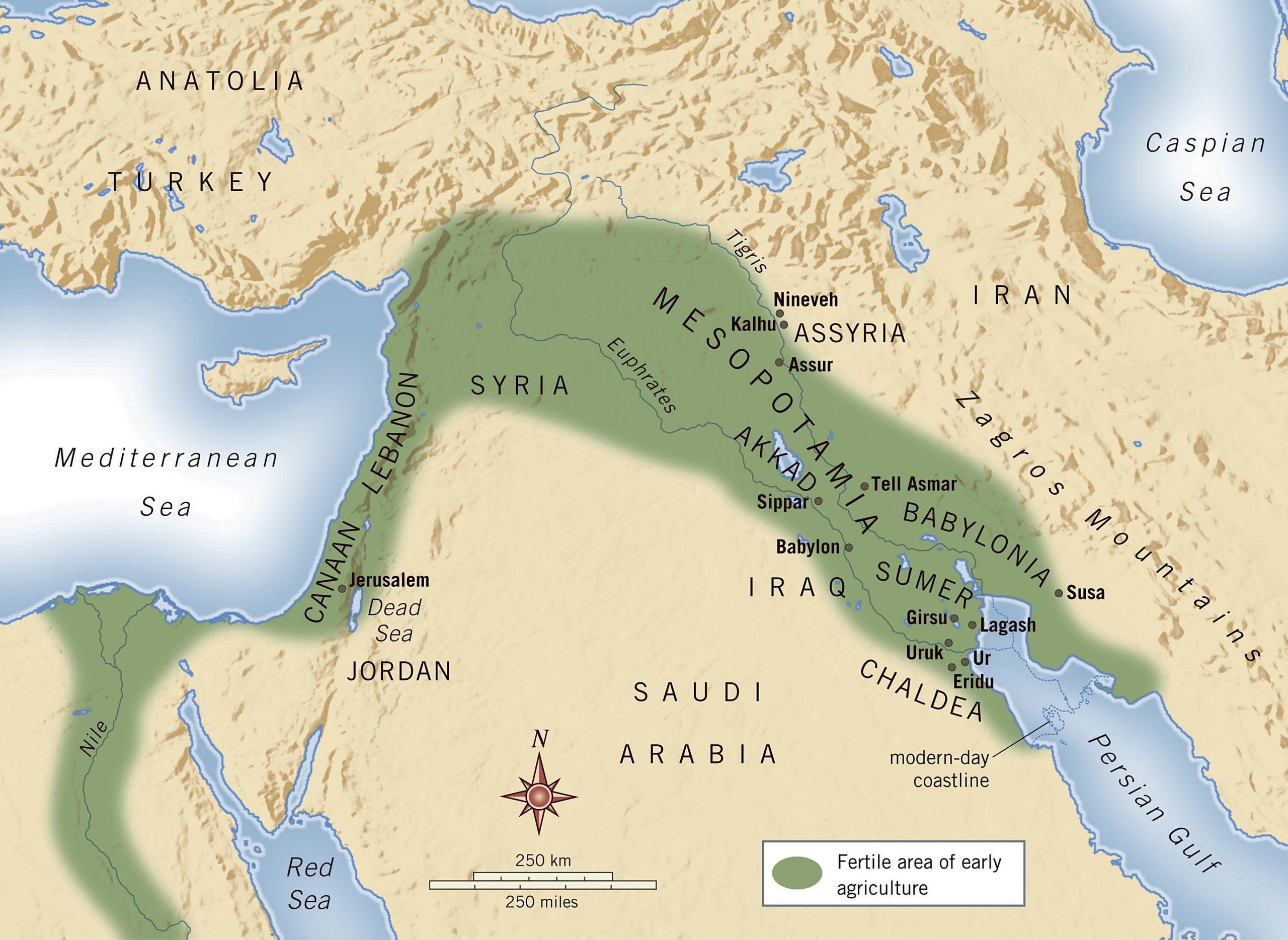Mezopotamya coğrafyası