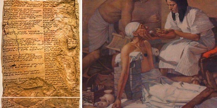 Mezopotamya'da ilaç tedavisi hakkında bilgiler