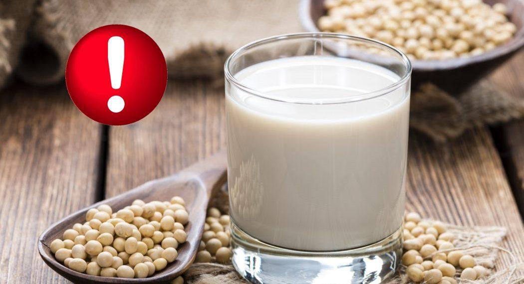 Soya sütünün zararları hakkında bilgiler