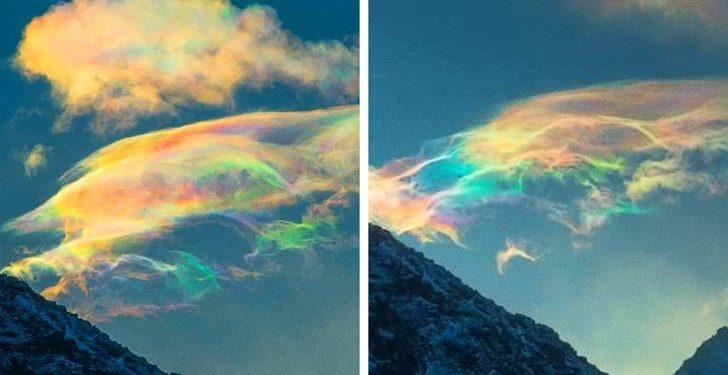 muhteşem doğa olayları Yanardöner bulutlar hakkında bilgiler