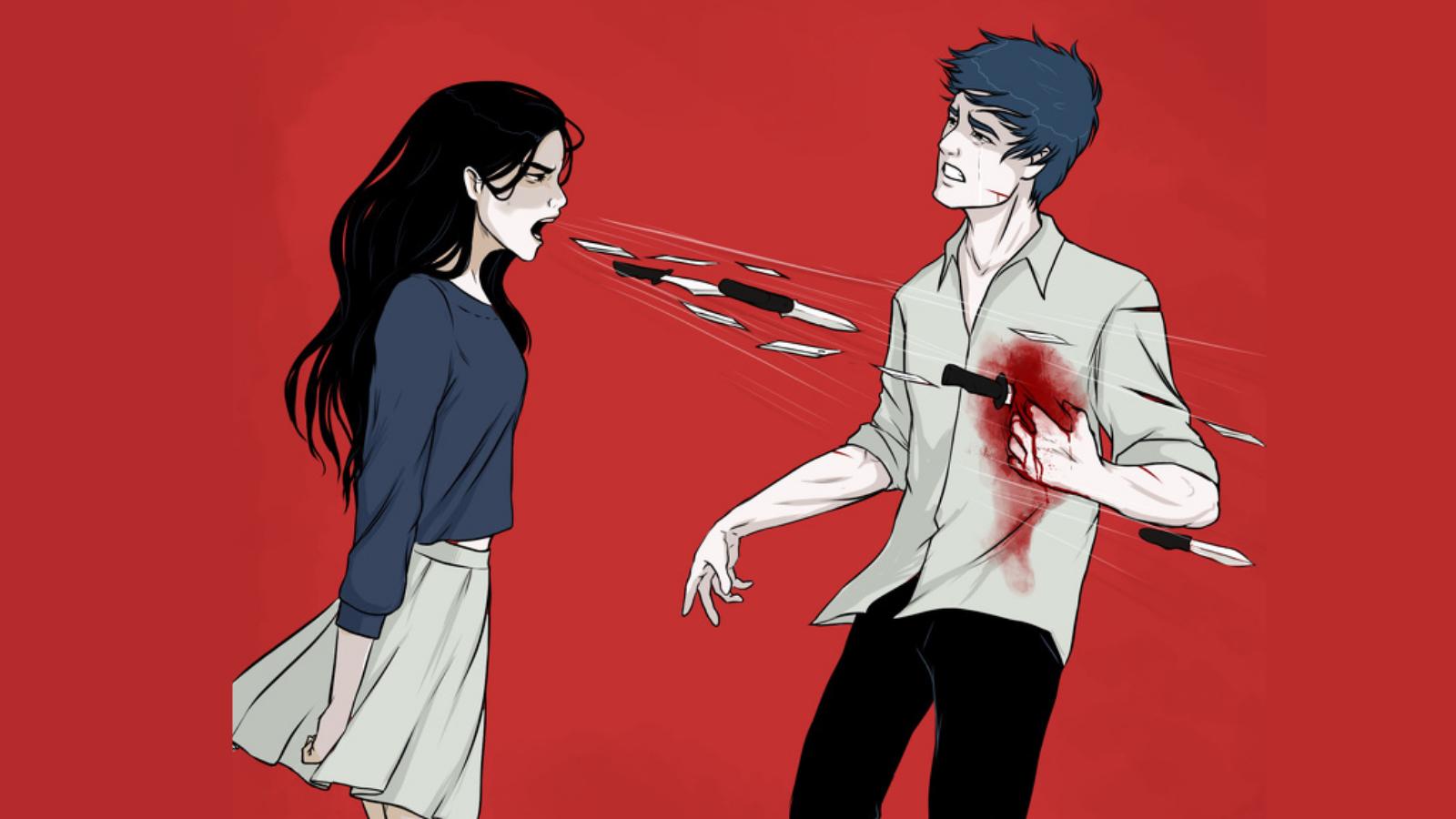 erkeğe şiddet