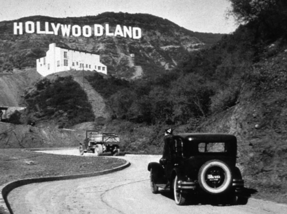 hollywood tabelası