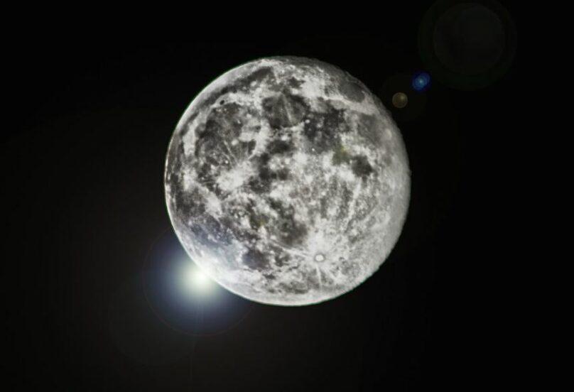 süper ay Eta Aquarid meteor yağmuru