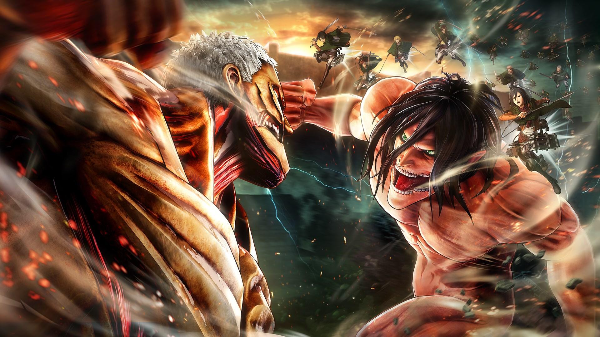 En iyi anime diziler Attack on Titan