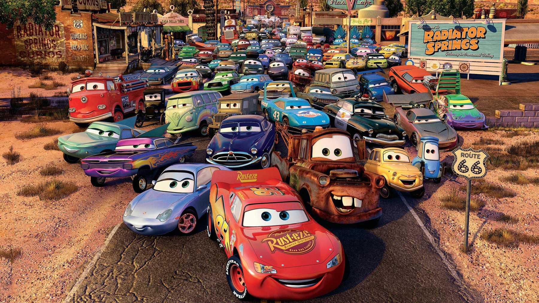 Cars filmi