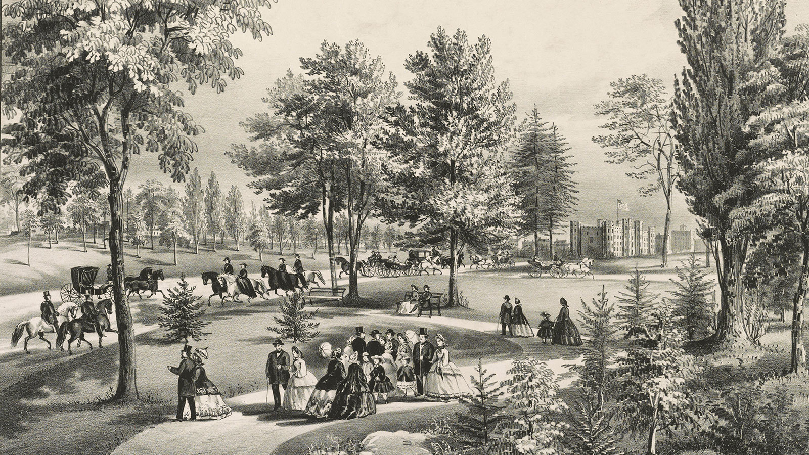 Central Park'ın açılışı