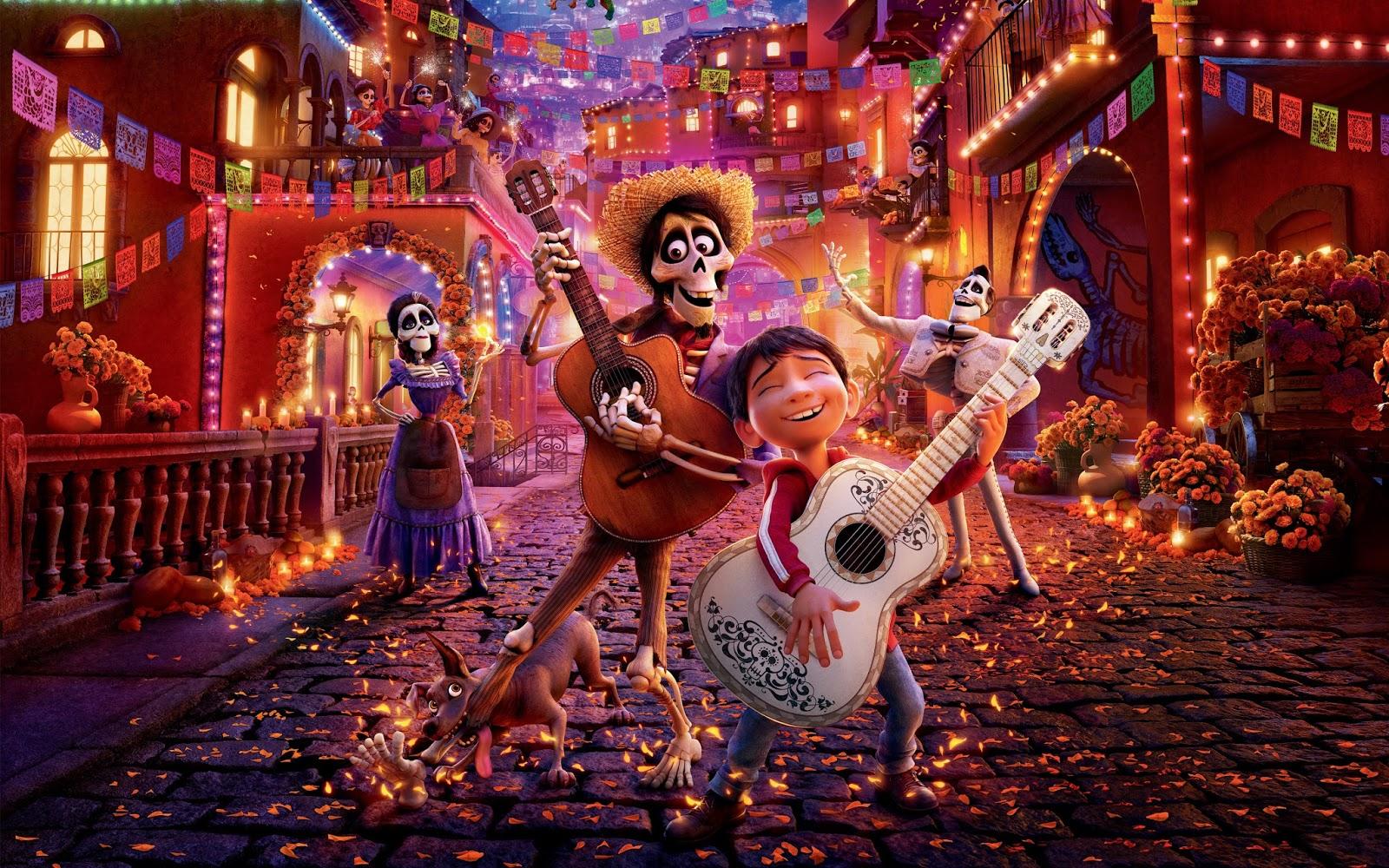 En iyi Pixar filmleri Coco filmi