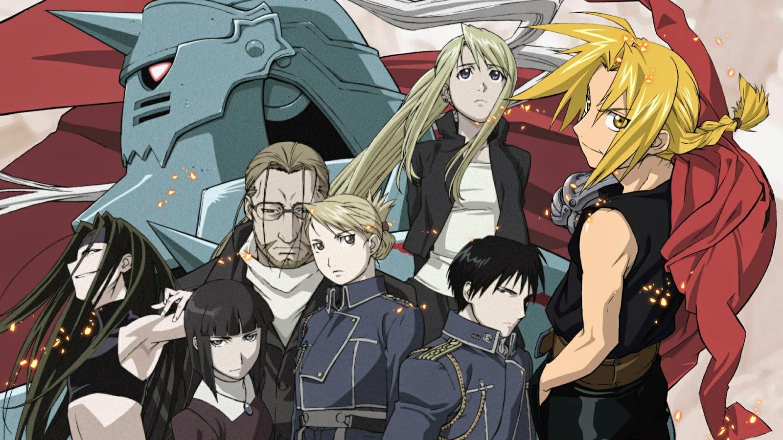 Anime dizisi Fullmetal Alchemist: Brotherhood