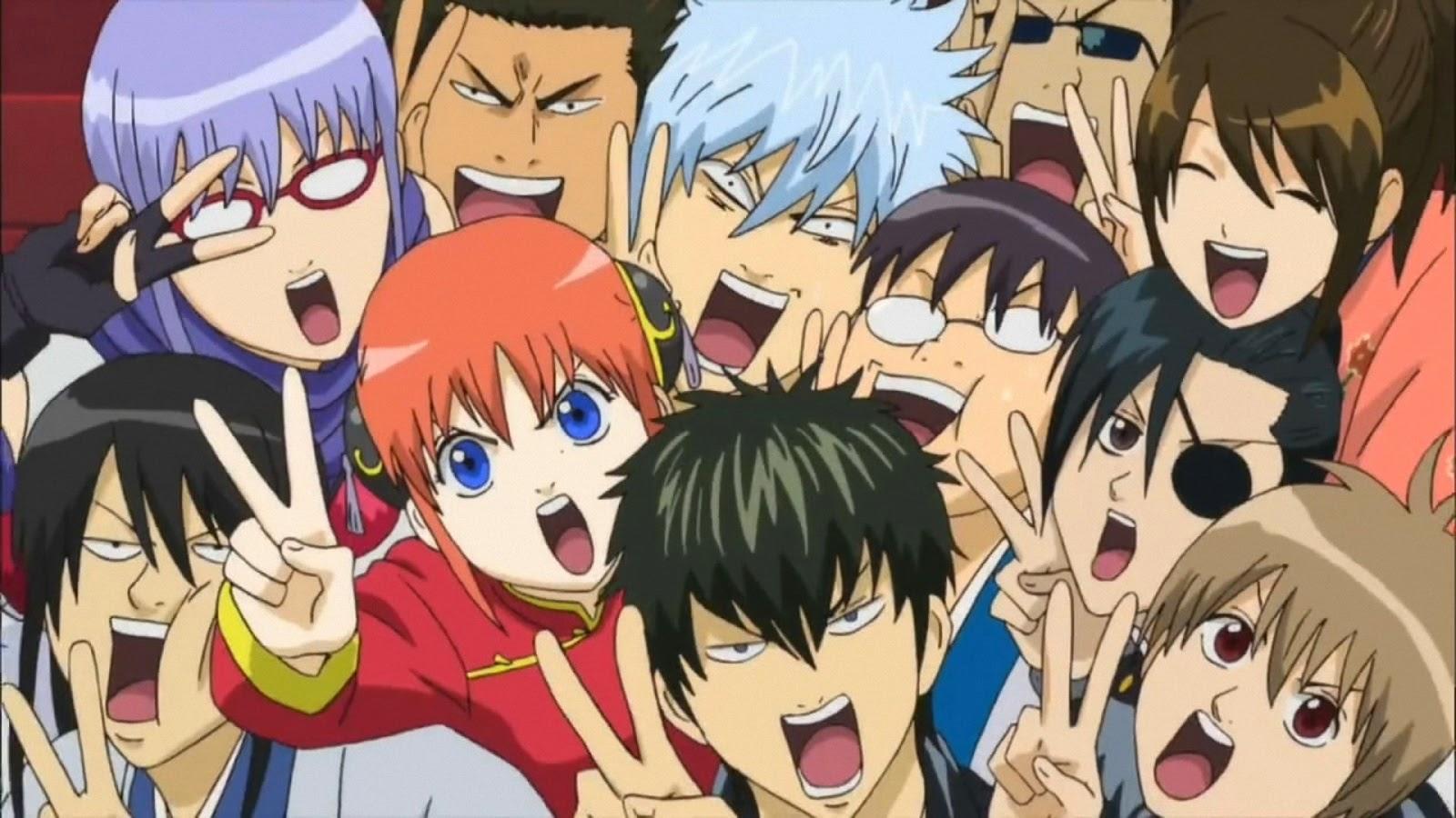 Anime dizisi Gintama