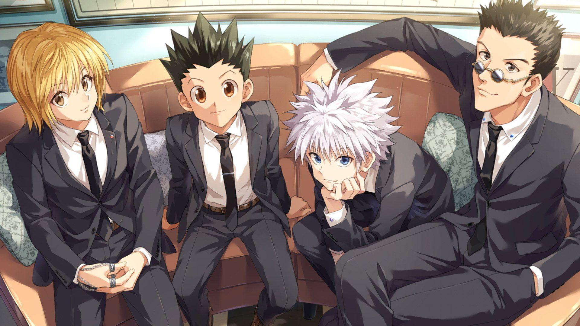 En iyi anime diziler Hunter X Hunter