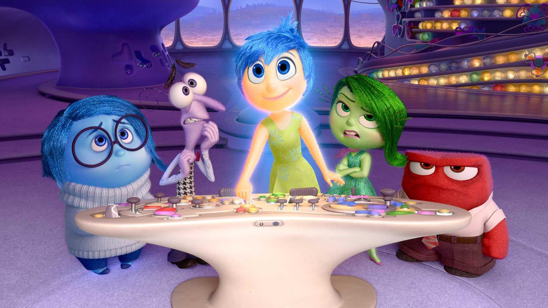 En iyi Pixar filmleri Inside Out filmi