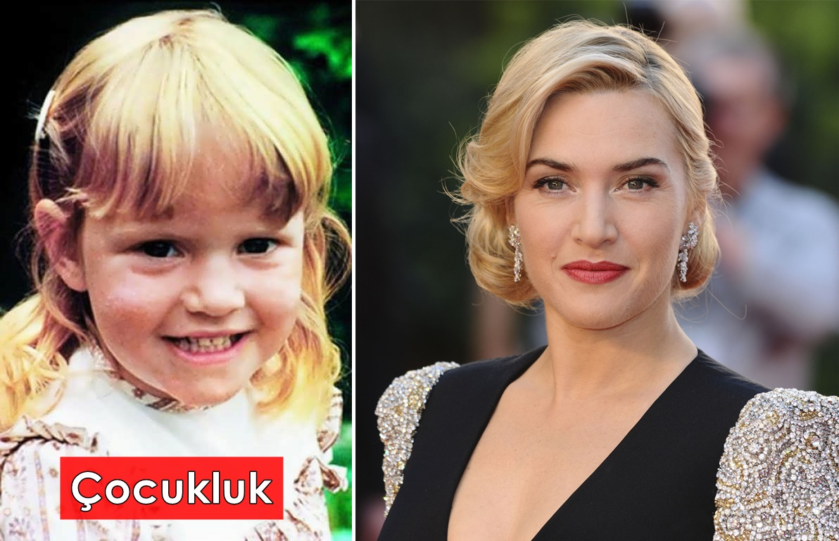 Kate Winslet çocukluk hali