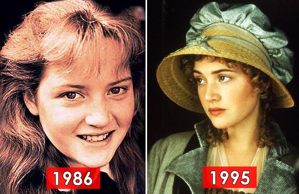 Kariyerinin ilk yıllarında Kate Winslet