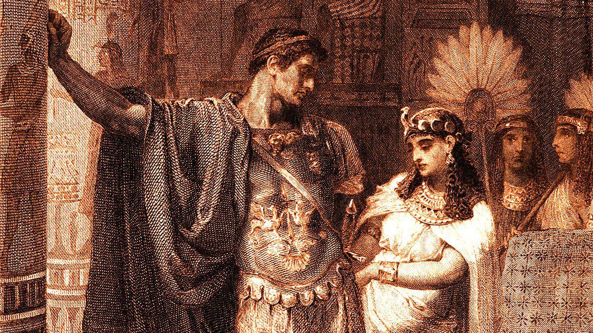 Kleopatra ve Marcus Antonius aşkı
