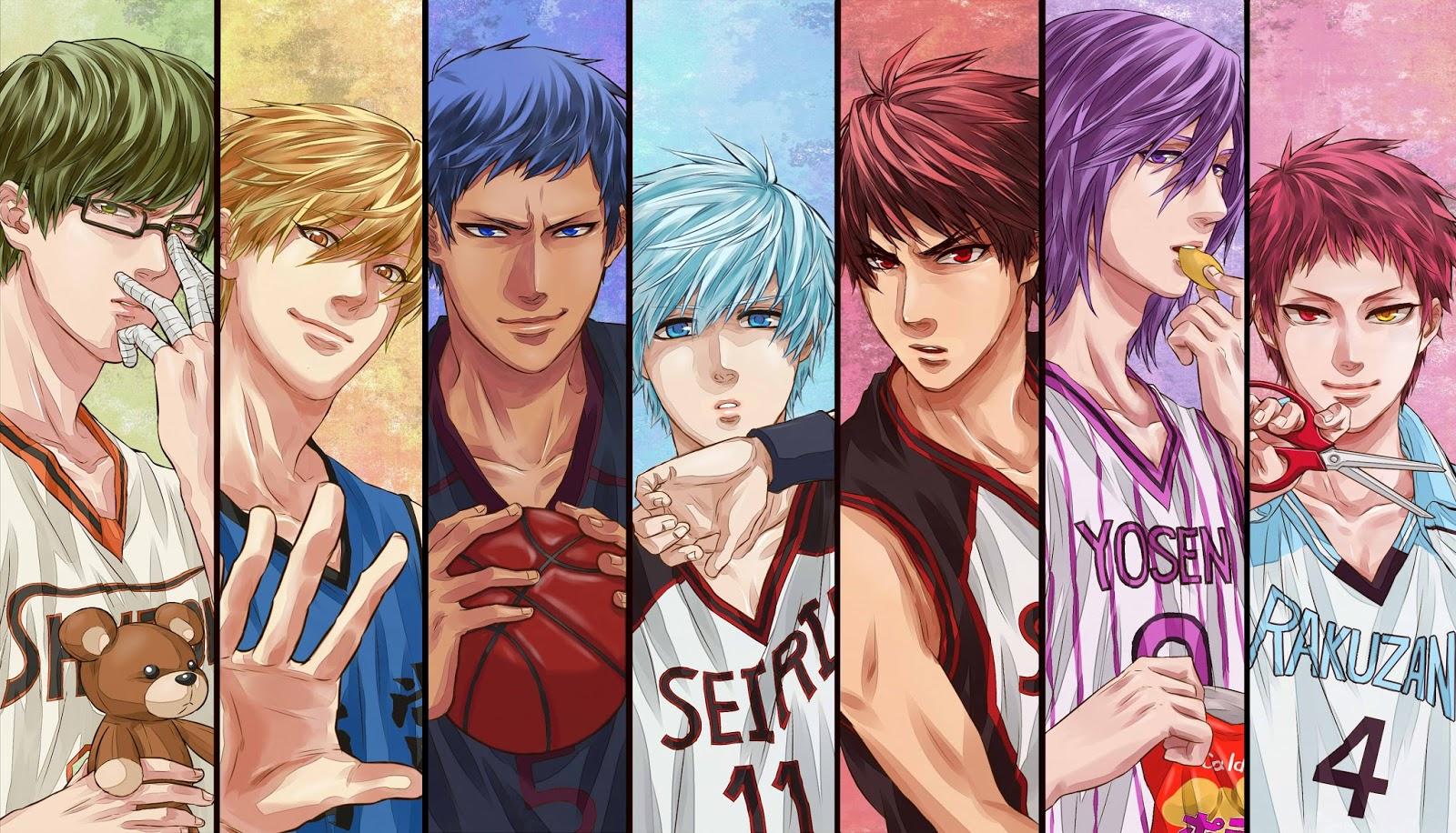 Anime dizisi Kuroko no Basket